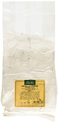 Argilla Verde Superventilata per trattamenti purificanti di cute e capelli - 1 kg - Prodotto erboristico Made in Italy