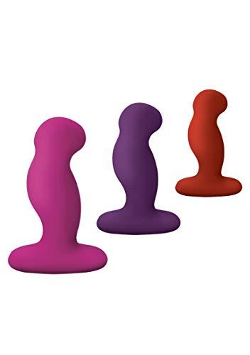 Nexus Gplay Trio - Unisex Vibrator Set - 3 Farben