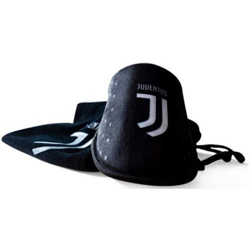 Juventus pantofole imbottite uomo con logo - 100% originali - 100% prodotto ufficiale - colore nero - numero 41-42