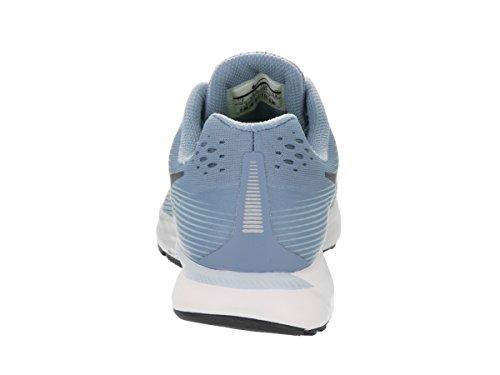 Nike Wmns Air Zoom Pegasus 34, Chaussures de Running Compétition femme Wolf Blue/Black/Ice Blue/White