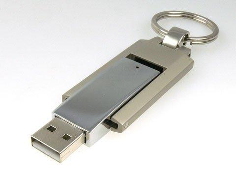 Chiave USB2.0Flash Drive Lettore Memoria Flash USB (ricco 01-014) argento