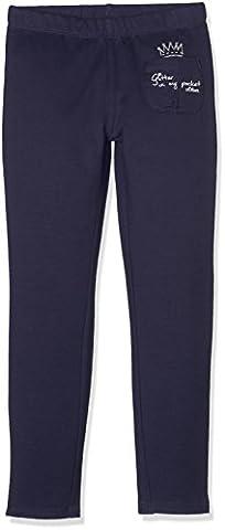 s.Oliver Mädchen Leggings 53.708.75.2208 Blau (Blue 5815), 116 (Herstellergröße: 116/REG)