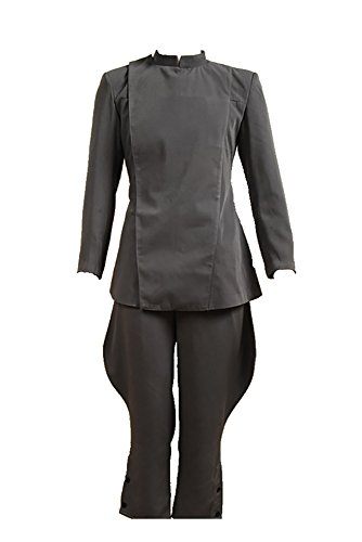 Star Wars Imperialen Offizier Armee Uniform Kostüm Updated Version Grau (Damen Armee Offizier Kostüm)