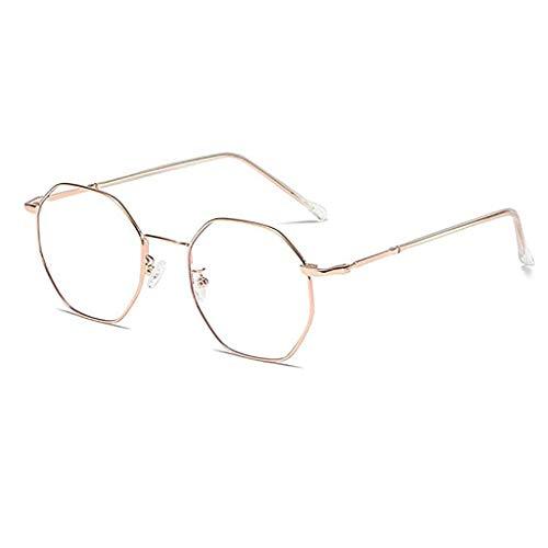 Glücklich zusammen Enter Anti Blue Light Brille Schutzbrille für Computer/Telefon Besserer Schlaf [Anti-Augen-Ermüdung] Geschäftsbrillen, Unisex (Color : A)