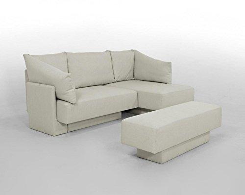 CHOICE 1 Modulsofa-Set *German Design Winner* bequemer 2-Sitzer, Recamiere, Gästebett Schlafsofa...