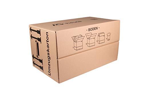 15 Gläserkartons Flaschenkartons Umzugskartons Geschirrkarton 2-Wellig 15 Fächer von A&G-heute - 7