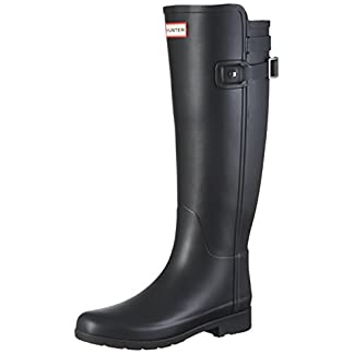 HUNTER Women's W Org Tall Bt Refined B Strap Wellington Boots 12
