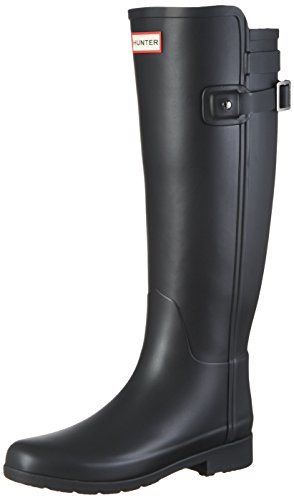 Hunter Damen W ORG Tall BT Refined B Strap Gummistiefel, Schwarz (Black), 39 EU (Hunter Damen)