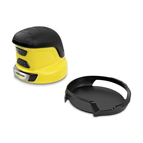 Kärcher EDI 4 Elektrischer Eiskratzer (Akkubetrieben, 15 min Laufzeit, inkl. 6 Klingen, für die Autoscheibe, 540 g Gewicht, Schutzkappe, mit Ladegerät)