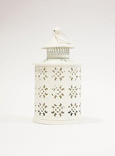 Circolare, tagliati a Laser, stile Vintage, decorazione per centrotavola, colore: bianco