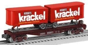 o-27-piggyback-flat-w-trailer-krackel-by-lionel-by-lionel