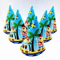 y Cups Hörner Servietten Teller Banner Tischdecken Caps Strohhalme Baby Shower Einweggeschirr Set Dekorationen, Cap-Hut ()