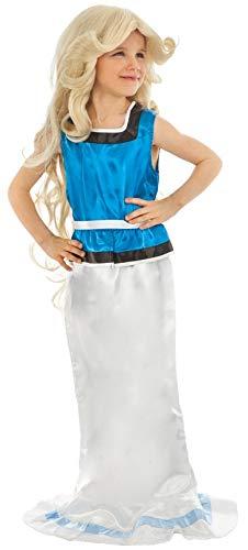 Chaks C4387116 Öko-Kostüm Falbala, 116 cm, 4-6 Jahre