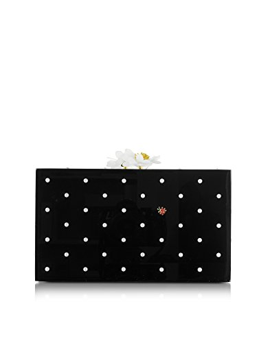 charlotte-olympia-mujer-c173093001-negro-plastico-clutch