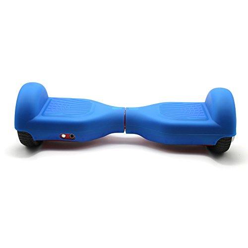 Voller Decke Silikon Anti Schock kratzfest Schutzhülle Hülle für 6.5 Zoll Hoverboard Schutzhülle Schutz Smart Skateboard Elektrische (Blau)