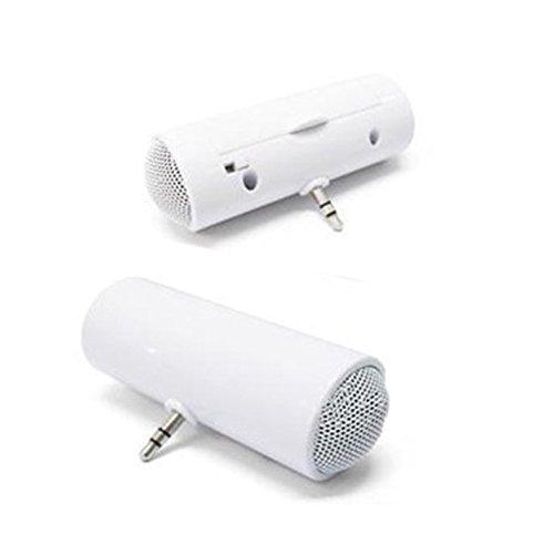 Hrph Portable Design Cylinder Mini Haut-Parleur Stéréo Sound Box pour Pad Cell Phone