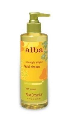 Alba Botanica Hawaiian Facial Cleanser, Pineapple Enzyme 8 oz (Pack of 5) by Alba Botanica -