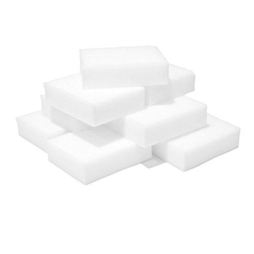 10 Stück Schwamm-Pad Reinigung Flecken Entferner hartnäckige Radiergummi Autowasch Küche sauberer...