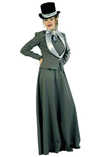 Unbekannt Aptafêtes-cu020276/38-40-Kostüm-mina-Kostüm 19. Jahrhundert für Damen-Größe 38-40