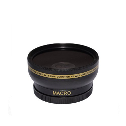 58mm High Definition Wide Angle Macro Lens for Nikon AF-S DX Nikkor 55-300mm f/4.5-5.6G ED VRUltra Wide Angle Converter 58 mm Wide Angle Lens 58mm Lens  available at amazon for Rs.2249