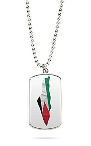 Kette Dog Tag Palästina Gaza 2