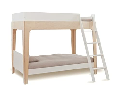 Rosenberry Rooms Perch Bunk Bed in White & Birch
