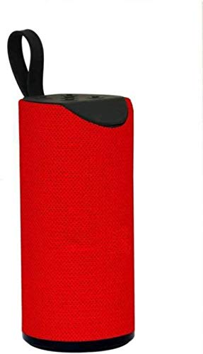 WILES TG113 Super Bass Splashproof Wireless Bluetooth Speaker Best Sound Quality Playing with Mobile/Tablet/Laptop/AUX/Memory Card/Pan Drive/FM (RED)