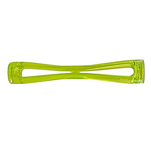 Barstößel XXL Handgriff aus Neon Grünes Kunststoff mit gewelltes Ende von Doimoflair 1 Stück. Neon-jigger