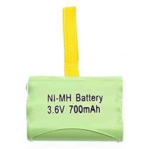Obtenir 3.6V 700 mAh AAA rechargeable NI-MH Batterie pour Talkie Walkie