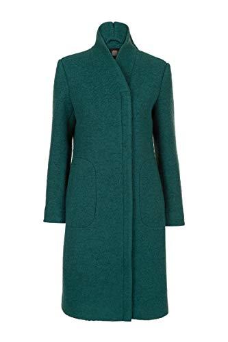 Promiss clarice - cappotto da donna in misto lana cotta, modello clarice nero 44