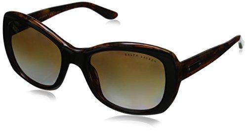 Ralph Lauren Unisex RL8132 Sonnenbrille, Braun (Havana 5260T5), One size (Herstellergröße: 55)