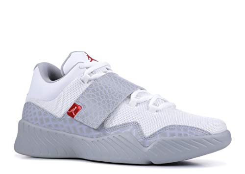 Jordan Schuhe - J23 Weiß/Grau/Rot Größe: 41 (Weiß Und Grau Jordan Rot,)