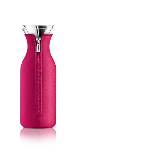 Eva Solo 1L Kühlschrank Karaffe mit Neopren, Raspberry