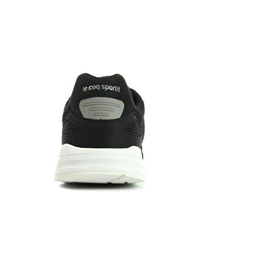Le Coq Sportif Lcs R900 Mesh 2 Tones, Baskets Basses homme Noir et blanc