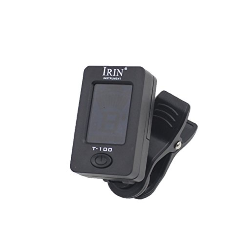 Imported LCD Clip On Digital Tuner for Chromatic Guitar Bass Volin Ukulele  available at amazon for Rs.285