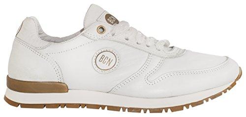 BCN Brand 950 Verano Boda Fiesta, Chaussures femme Blanc