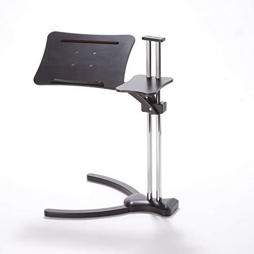 Lounge-Wood Dark - laptoptisch (Ergonomische Computer-cart)