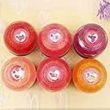 Sexy Long Lasting Lip Makeup Glitter Crystal Fruity Lip Gloss Lipstick Lip Cream Lip Balm (ORANGE)