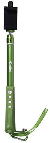 Rollei Selfie Stick Arm Extension mit Bluetooth Auslöser für iOS, Android wie iPhone, Samsung, etc. (Max-verde-grün)