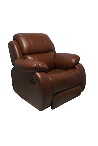 Innovate Manual Recliner Chair - Empirio_Brown