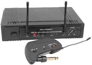 Z1P–4canales UHF True Diversity sistema inalámbrico de guitar