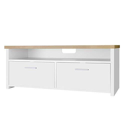 VASAGLE Mueble para TV con Compartimentos y Puertas, Mesa Baja para Televisor,...
