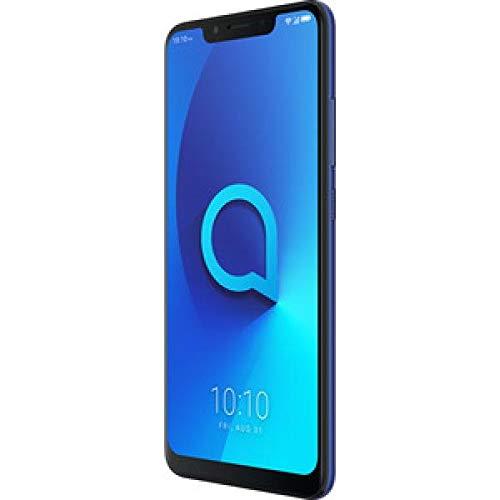 Alcatel 5060D-2BALWE2 5v Smartphone (15.74 cm (6.2 Zoll), 12 MP + 5 MP Kamera, Android 8.0 (Oreo)), 32 GB Spectrum Blau