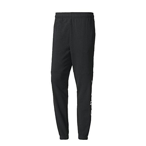 adidas Bq9090 Pantalón de Chándal, Hombre, Negro/Blanco, S/S