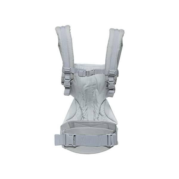 Ergobaby Babycarrier 360 4 Postition Carrier Sunrise Pearl Grey Ergobaby 4 ergonomic carry positions: front-inward, front-outward, hip, & back Weight range: 12- 33 lbs. (from 7-12 lbs. with infant insert, sold separately) Ergonomic seat for baby, adjustable for forward-facing 2