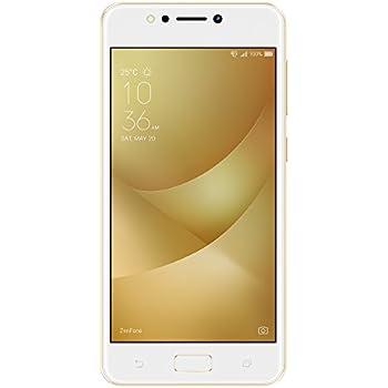 "ASUS ZenFone 4 Max ZC520KL - Smartphone de 5.2"" (4G, WiFi, Bluetooth, Qualcomm Snapdragon 425 MSM8917, 16 GB de eMCP, 2 GB de RAM, cámara de 13 MP, Android 7.0 Nougat) oro"