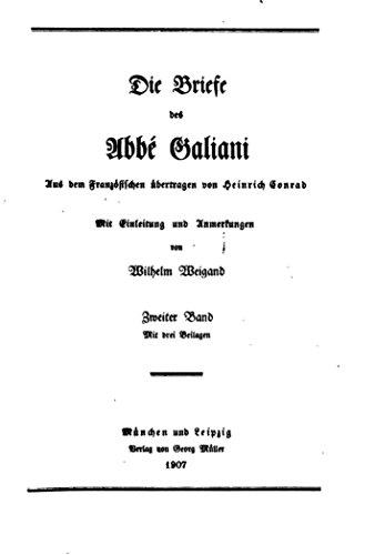Die Briefe des Abbé Galiani