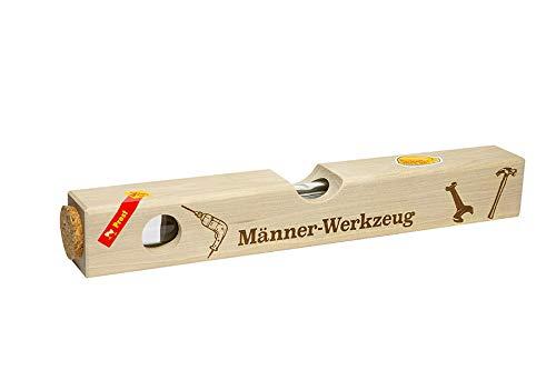Weisenbach - Wasserwaage - Motiv: Männer-Werkzeug - Waldhimbeergeist 40% vol.
