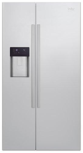 Beko GN 162330 X Side-by-Side / A++ / 76,9 cm Höhe / 369 kWh/Jahr / 353 L Kühlteil / 176 L Gefrierteil / Edelstahl Fingerprint Free