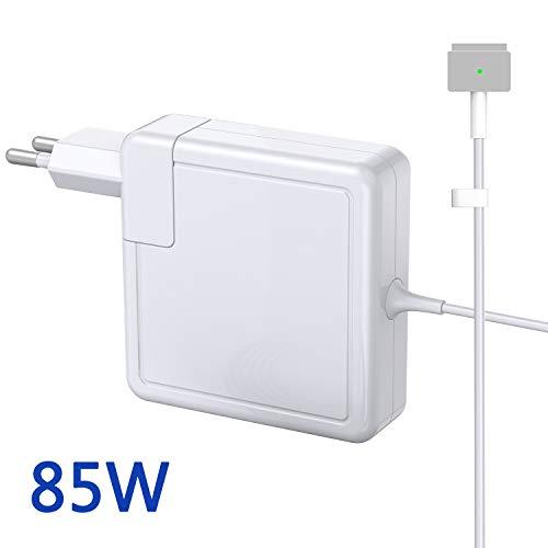 NETPER kompatibel mit MacBook Pro, ladekabel 85w, Ersatz-Mac 13/15 Zoll von 2012 2013 2014 2015 und Retina Display Ladegerät für Magsafe 2 85w mit 1,8m Ladekabel und EU-Stecker